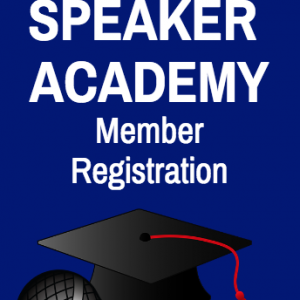 """SpeakerAcademy-Member-Registration"""