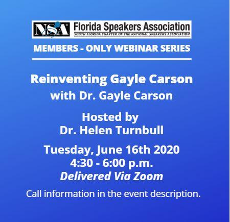 FSA Webinar Dr Gayle Carson_1