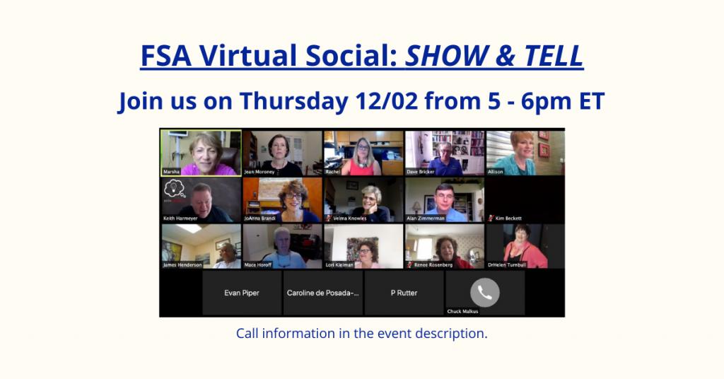 FSA Dec 2 Virtual Social